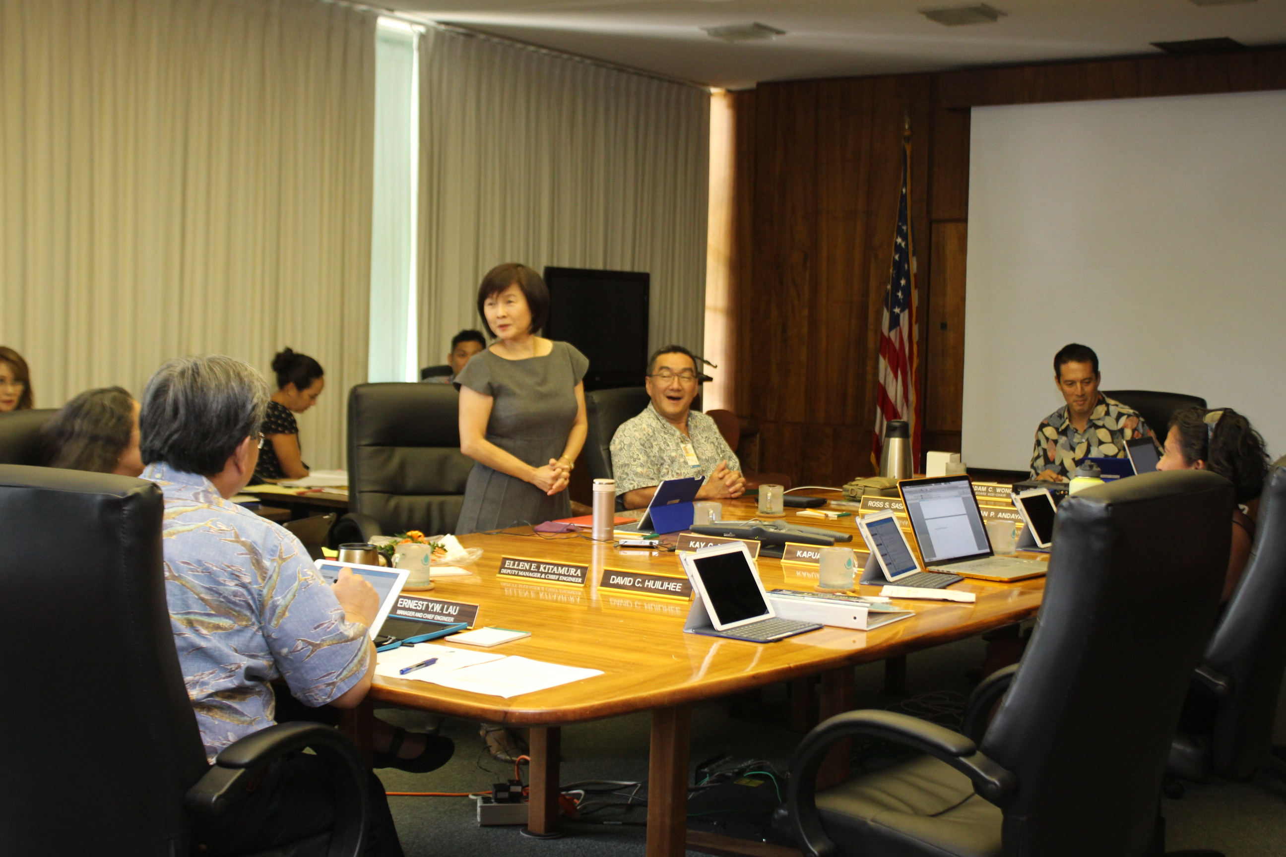 september 2016 board meeting kay matsui