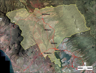 central oahu watershed management plan map