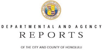 city department and agency reports header