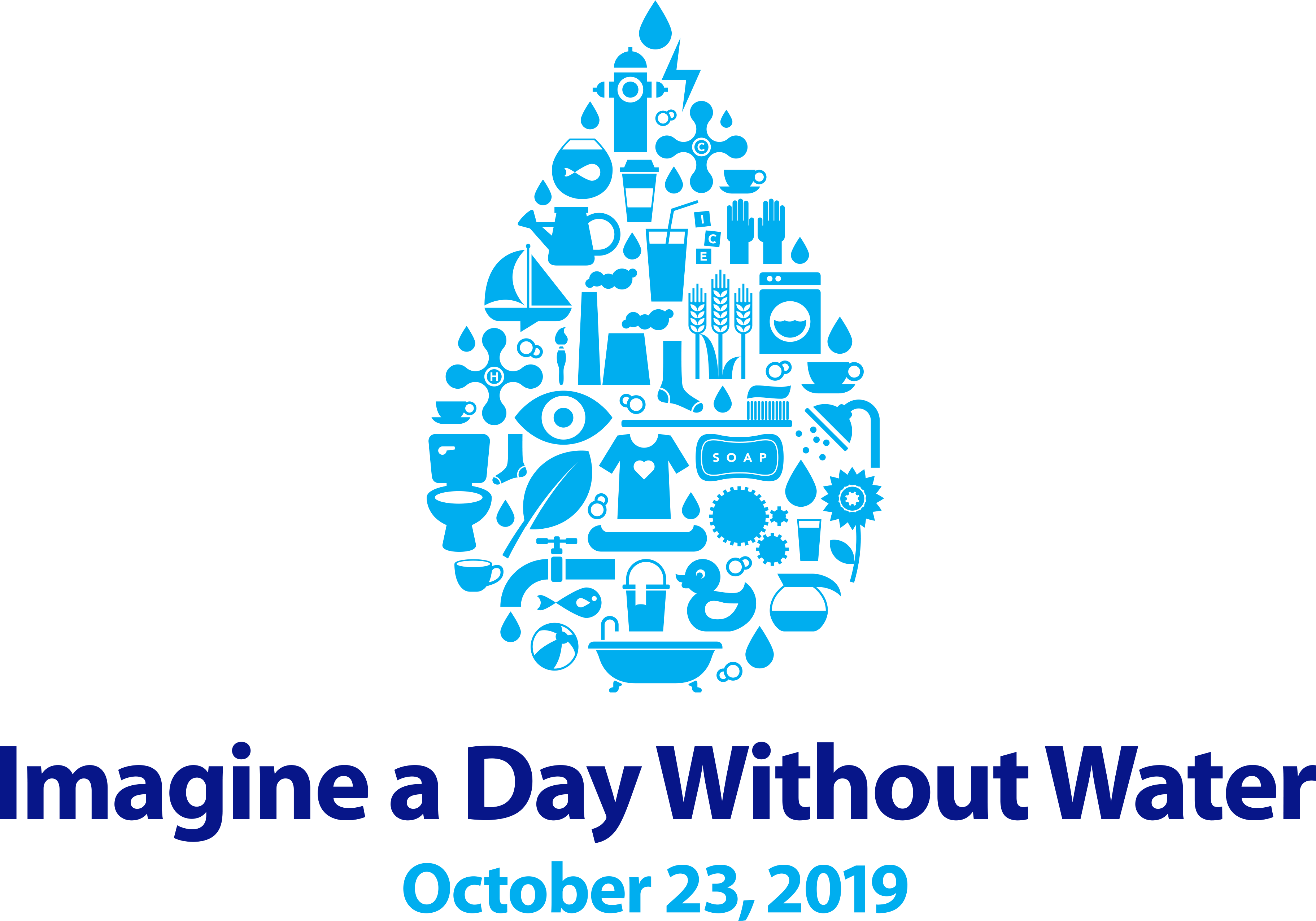 imagine a day without water campaign 2019