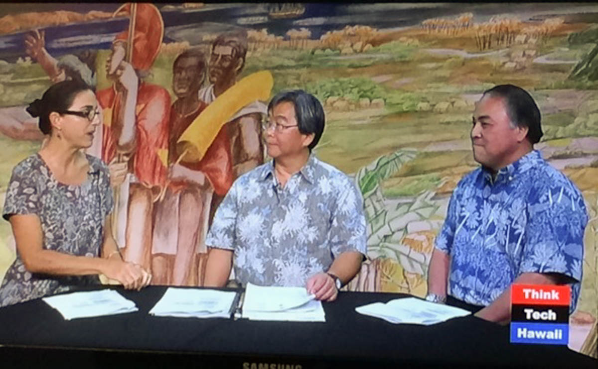 thinktech hawaii interview on red hill