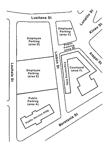 rules and regulations chapter iv parking map