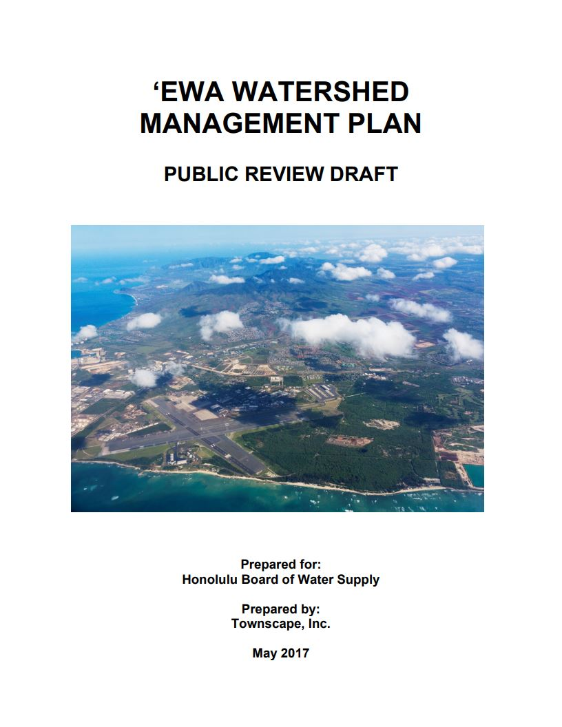 ewa watershed management plan draft