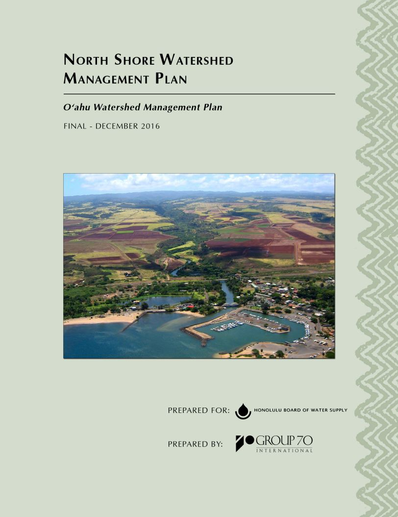 north shore watershed management plan